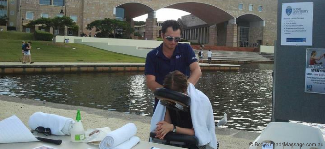 Corporate Massage Gold Coast